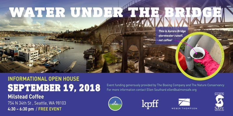 Water Under the Bridge: Join us September 19 in Seattle for